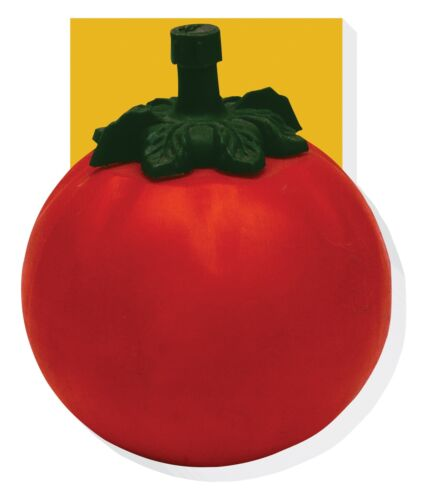 Retro Tomato Ketchup Shaped Note Pad Memo Book Robert Opie