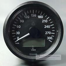 VDO VIEWLINE ELEKTRONISCHER  TACHOMETER 300KM/H  85MM 12 + 24V SPEEDOMETER