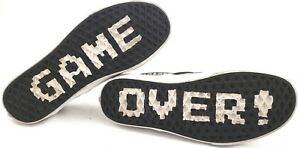 1064401857 Vans Super Mario Bros Nintendo GAME OVER Skate Shoes Size US Men 6 ...
