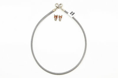 """Clear  D897-1//D897R 83-85 Honda ATC200X Galfer Front and Rear +4/"""" Brake Lines"""