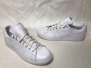 Details about Adidas Originals Stan Smith Triple White Monochrome Sneakers S75104 SZ 13 OG LOW