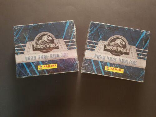 PANINI Jurassic World tombent Kingdom trading cards 2 écrans = 48 Sachets neuf dans sa boîte 1 A