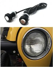 AMBER LED Turn Signal Lights for Jeep Wrangler Tube Fenders  YJ CJ JK TJ Rubicon