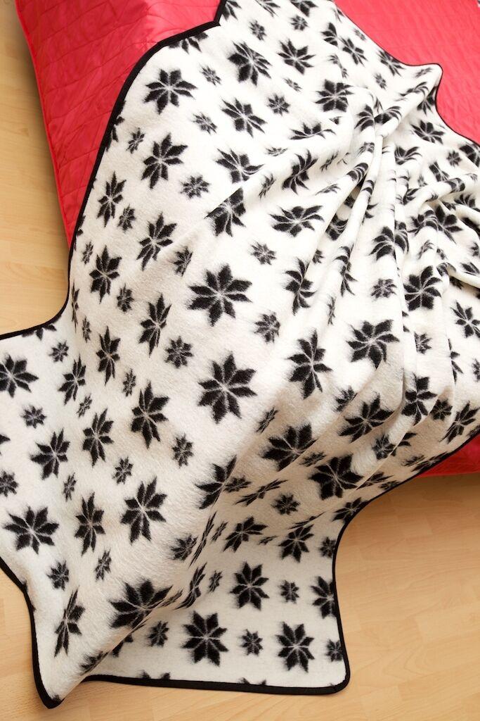 Plaid  tappeto Schur Schur Schur   Copriletto 100% lana merino,prodotto in c693c9