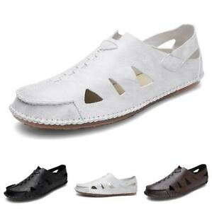 Sandals-Shoes-Men-Roman-Casuals-Pull-On-Leisure-Comfort-Spring-Fashion-Low-Cut