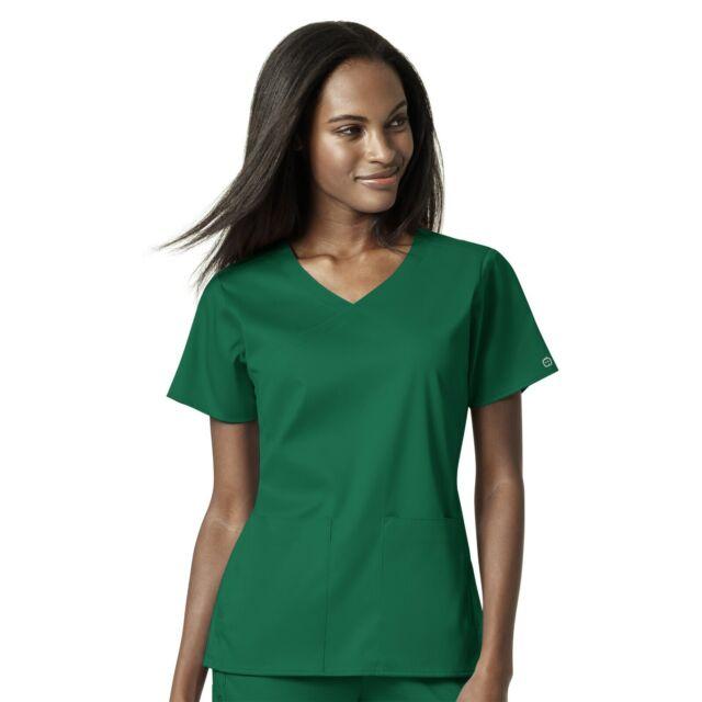 WonderWink Scrubs Set PRO Women/'s 4 Pocket Wrap Top /& Waist Cargo Pant 6519//5419