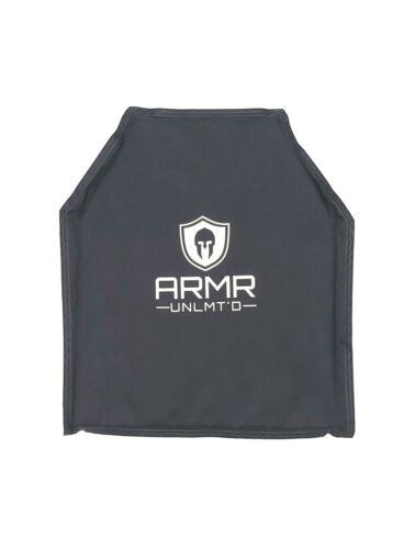 2pcs Level IIIA Body Armor 10x12-1.2 pounds ballistic plates