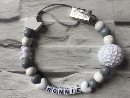Personalised Dummy Clip