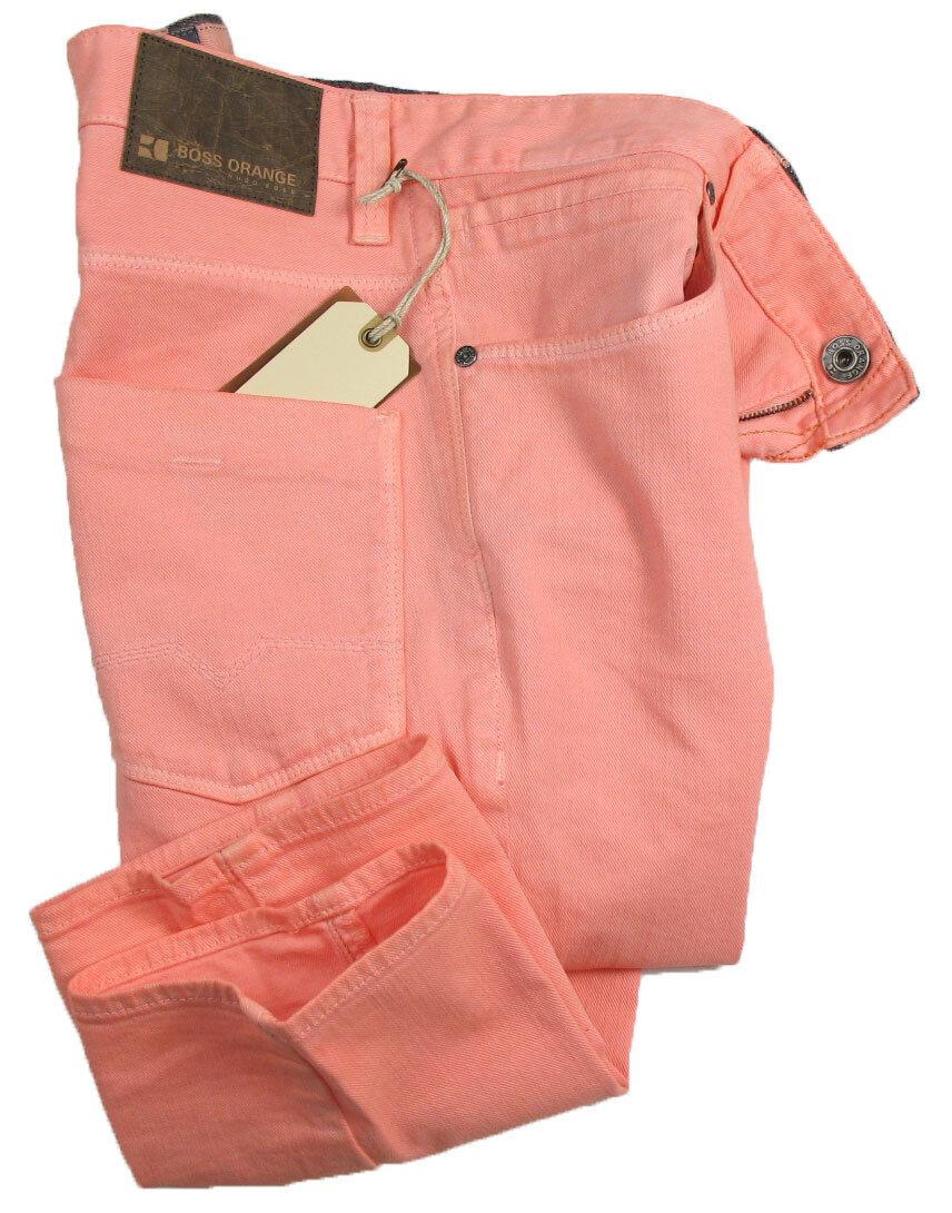 BOSS orange 63 Jeans   in W31 L32 ( Slim Fit ) lachs STRETCH