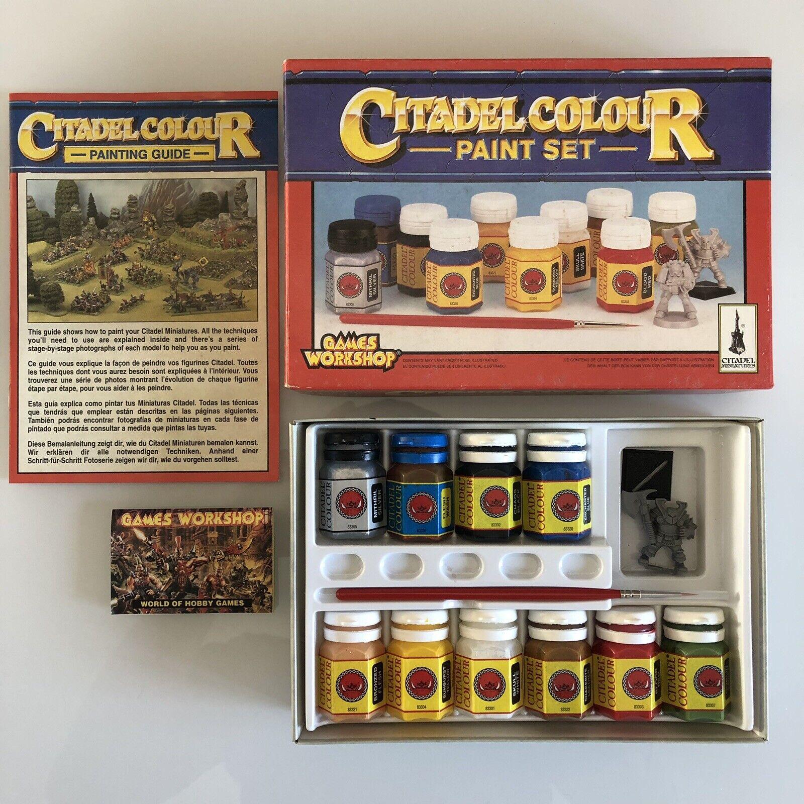 Citadel Colour Paint Set 1994