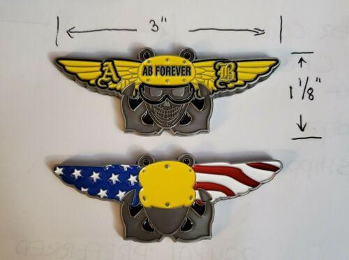 Navy Roof-Rat Aviation Boatswain/'s Mate Handler Yellow Challenge Coin