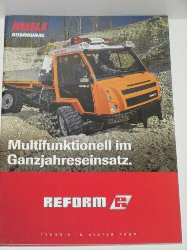 1136 REFORM MULI KOMMUNAL Transporter Prospekt von 08//2014