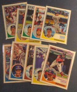 2018-Topps-Series-1-2-Update-Rookie-1983-35th-Anniversary-Insert-Pick-From-List