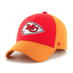 c4a4ca48 NFL Kids Kansas City Chiefs Two Tone Embroidered Cotton Twill Cap by ...