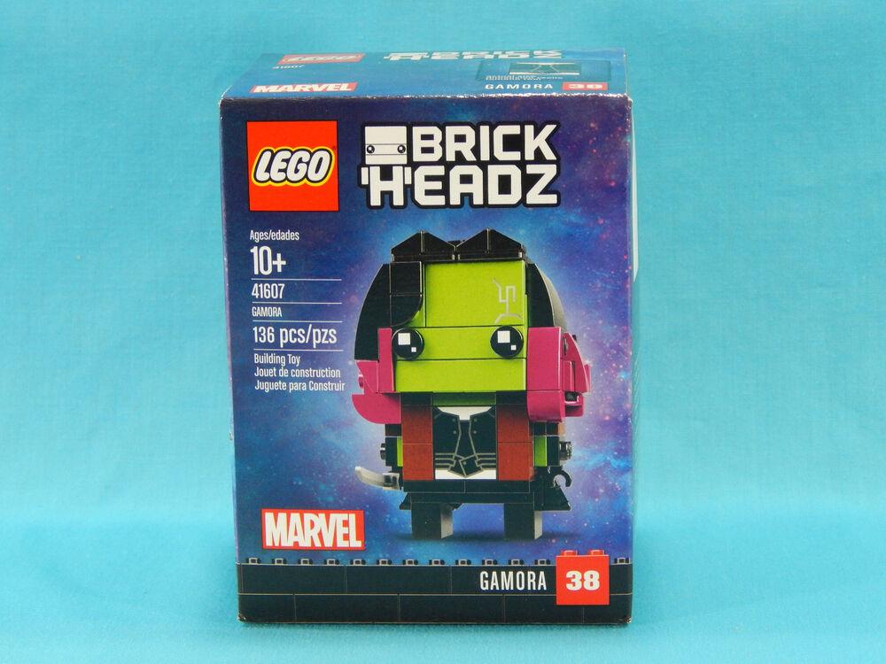 Lego Marvel Brickheadz 41607 Gamora New Sealed 2018 Guardians of the Galaxy