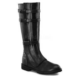 d143a3add92db5 Black Star Wars Darth Vader Space Pirate Mens Boots Shoes Walker-130 ...
