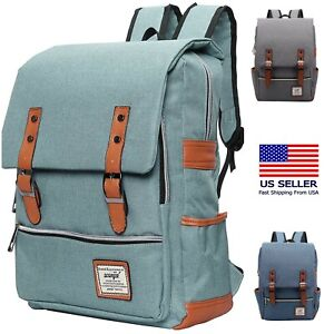 """Laptop Rucksack Backpack - Travel, College, Fits a 15.6"""" Macbook"""
