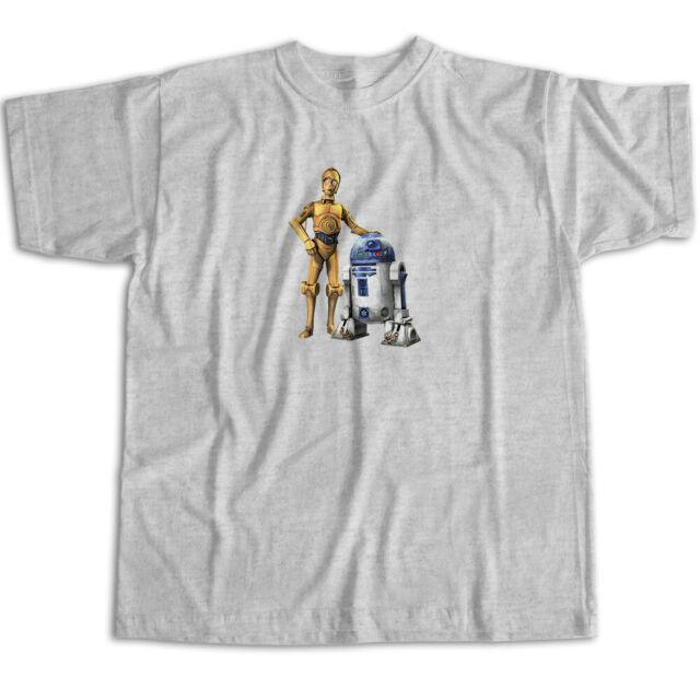 Star Wars Girls Black Star Wars Yoda Leia R2D2 C3PO Halloween Baseball T-Shirt