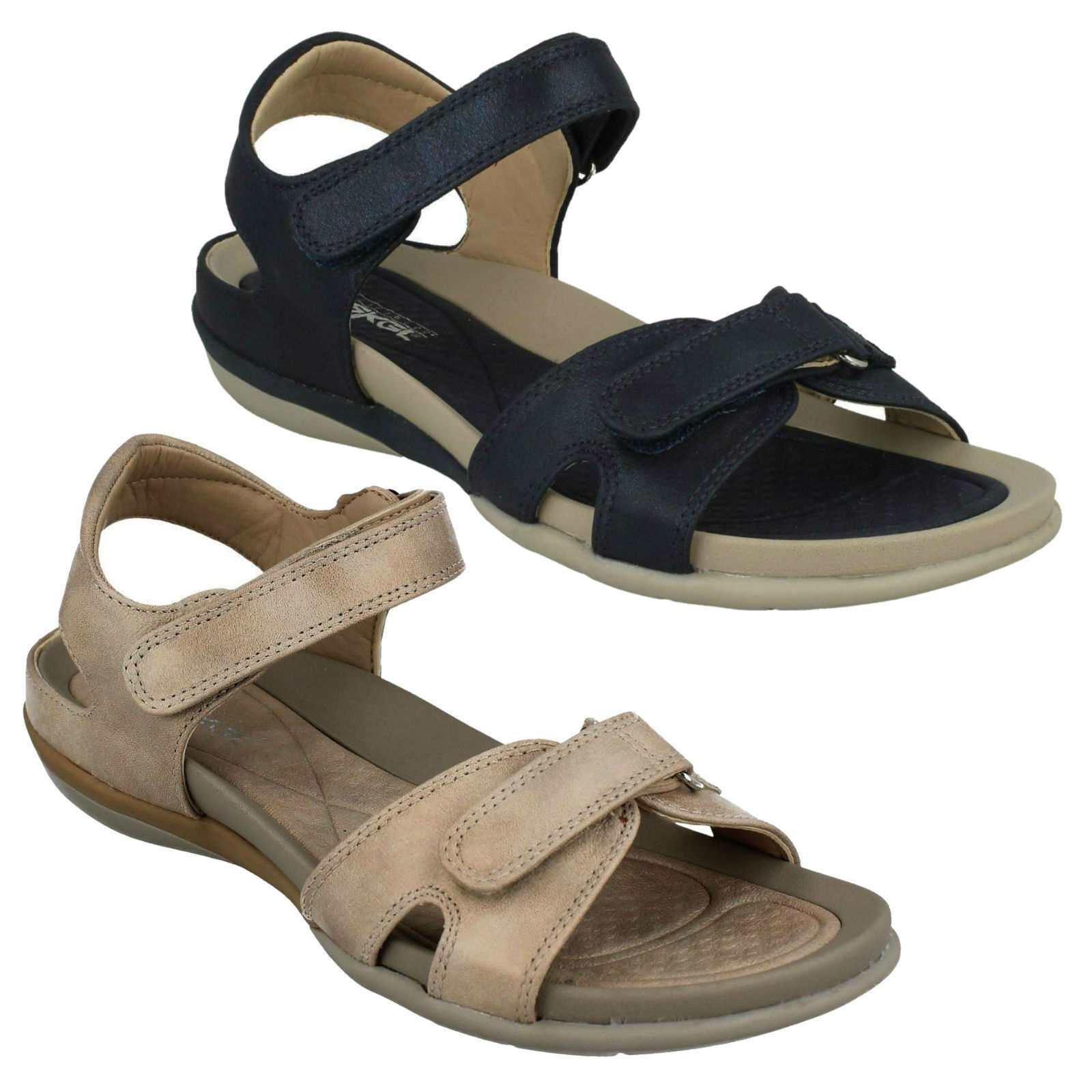 V9462  RIEKER Damenschuhe LADIES OPEN TOE CASUAL SUMMER SANDALS BEACH Schuhe SIZES