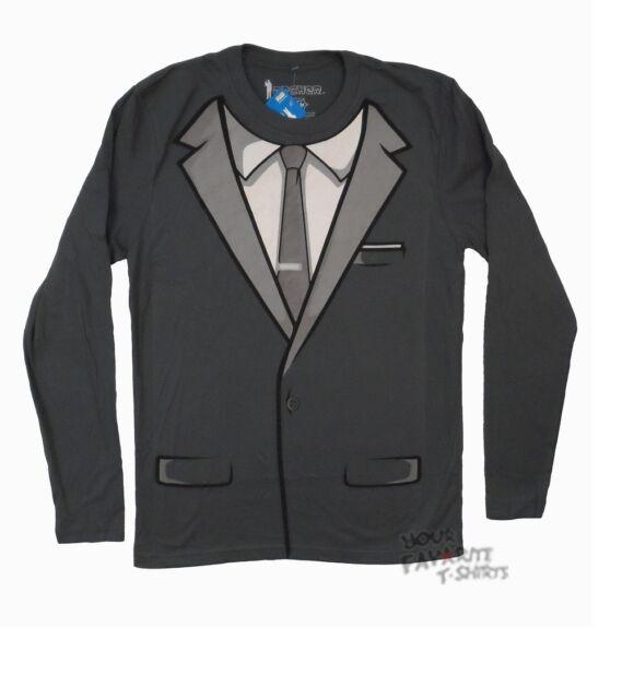 Archer Tuxedo Costume FX Licensed Adult Long Sleeve Shirt S-3XL