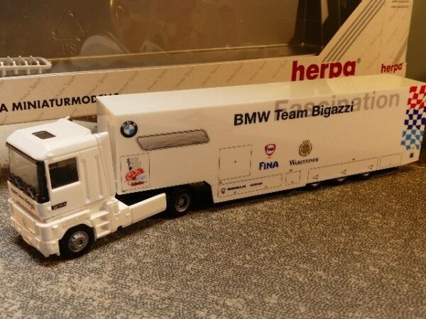 1 87 Herpa Renault AE BMW Team Bigazzi 037280  | Neuartiges Design