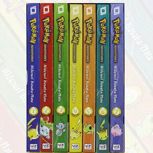 Pokemon-Adventures-GN-Collection-Volume-1-7-Books-Box-Set-By-Hidenori-Kusaka-NEW