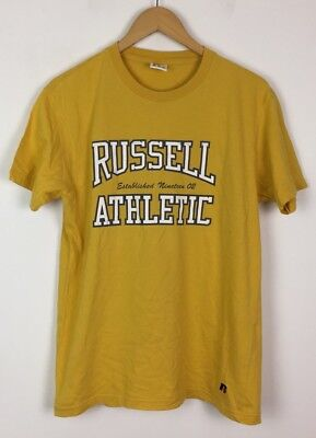 Russell Athletic Vintage 90 S Rétro Renouvellement Sports Top T Shirt urban UK S | eBay