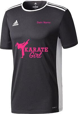 Damen Kurzarm Girlie T-Shirt The Evolution of karate Kampfkunst Kampfsport