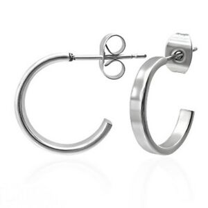 Open-Hoop-Earrings-Stainless-Surgical-Steel-Hypoallergenic-Posts