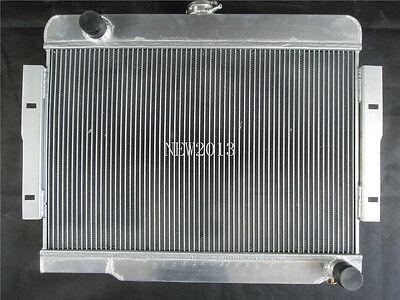 RADIATOR FOR 1972-1986 Jeep CJ Series CJ5 CJ7 Chevy V8 CONVERSION FANS 3ROW
