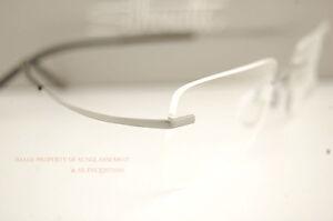 4e2ebfd0070 New Silhouette Eyeglass Frames TMA ICON 7579 6061 GREY BLACK 7581 ...