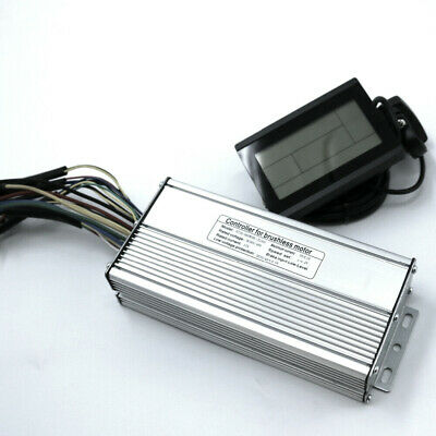 48V 25A  E-Bike KT Controller With Light Function For 500W 750W Motor