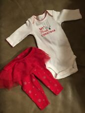 Baby's First Christmas Girl Outfit