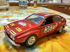 BBURAGO BURAGO 144 ALFA ROMEO ALFETTA CORSA corsica rally  scala 1/24