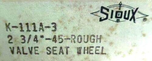 """SIOUX MAX RPM 9028 GRINDING WHEEL 45 DEG 2-3//4/""""-45-ROUGH K111A-3"""