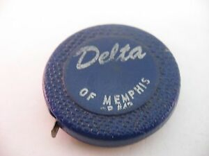 Vintage-Advertising-Tape-Measure-DELTA-of-MEMPHIS