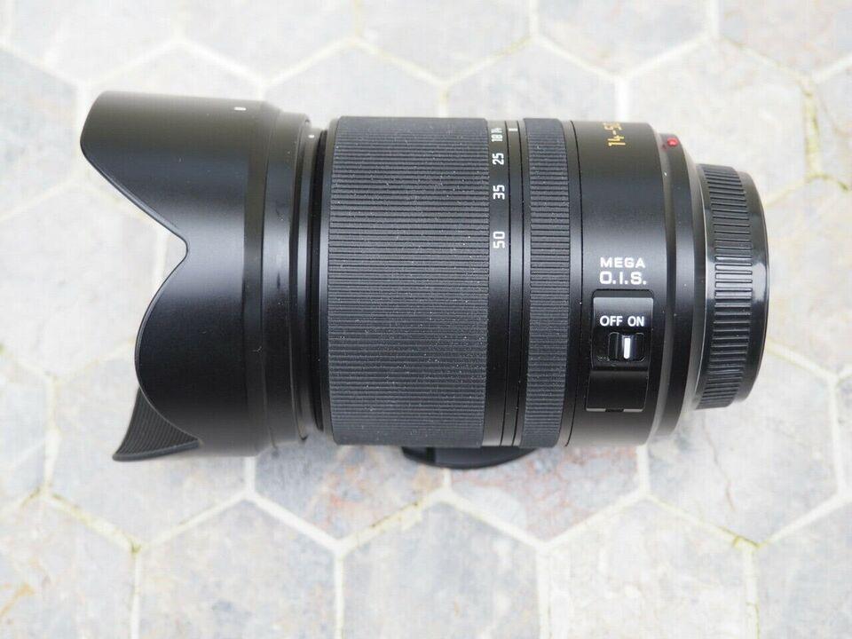 Zoom, Panasonic, Leica D Vario Elmar 14-50mm F3.8-5.6 Mega