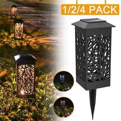 Solar Lampe LED Gartenfackel Strahler Gartenbeleuchtung Rasen Landschaft Dekor