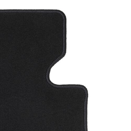 Für Hyundai Coupe //Tiburon ab 03.02 Fußmatten 4-teilig in Velours Deluxe schwarz