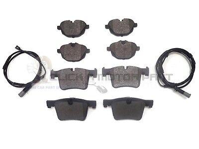 2011-2017 REAR BRAKE PADS SET OF 4 /& WEAR SENSOR BMW X3 F25 MODELS