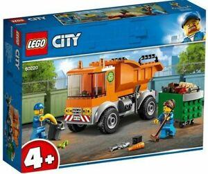 LEGO-City-Muellabfuhr-ab-4-Jahren-Muell-Abfuhr-inkl-zwei-Figuren-u-Muellcontainer
