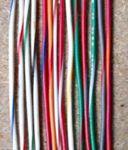 20 Awg Cable Industrial y Automotriz de 10//30 13 Cm Bicolor Vaina de 2 MT