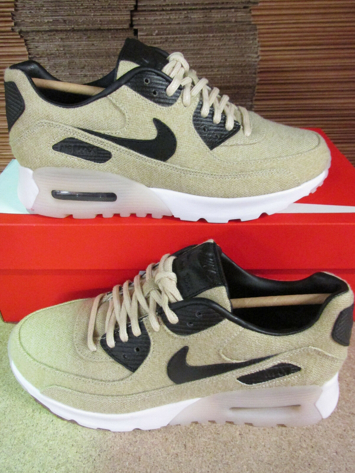 Nike Womens Air Max 90 Ultra PRM Running Trainers 859522 100 Sneakers Shoes