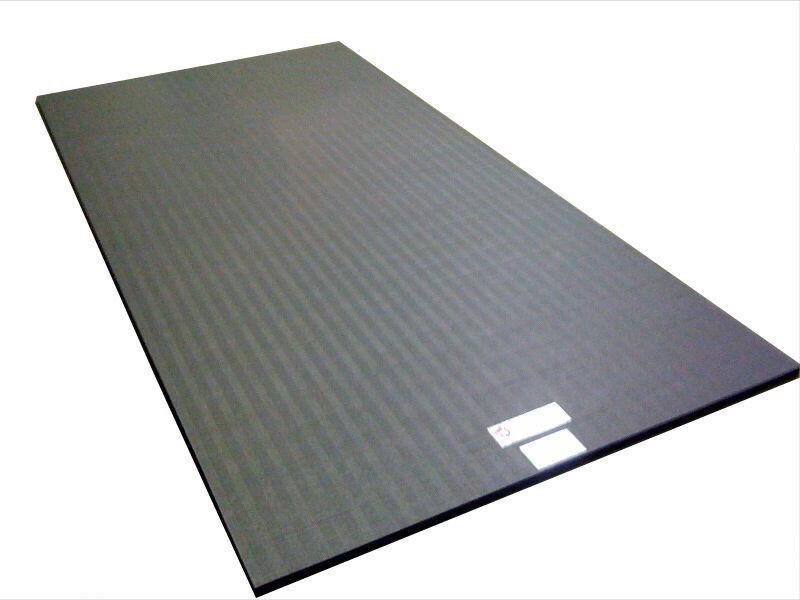 10'x5'x1.25   Dollamur Flexi-Roll® MMA Tatami Texture Mat -Charcoal G   first-class service