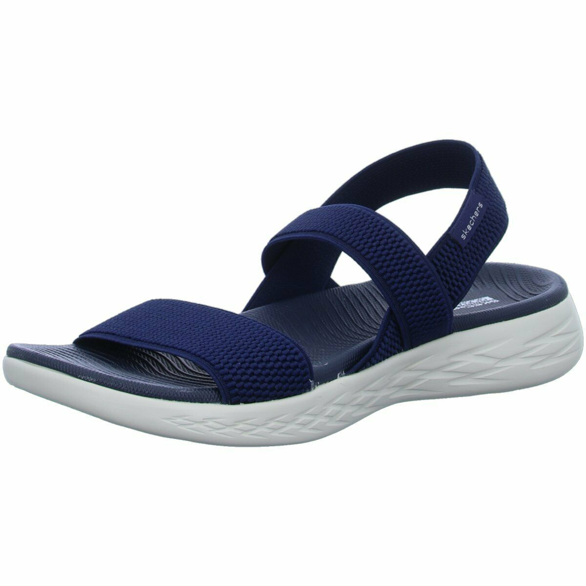 Skechers Damen Sandaletten ON-THE-GO 600 - FLAWLESS 15312 NVY blau 669020