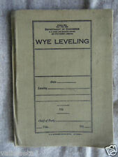 CARNET D'ENTRETIEN ? US ARMY 2ème GM / US AIR FORCE ? WYE LEVELING
