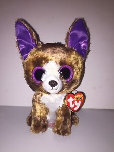 f9df5d8ced4 Image is loading TY-DEXTER-CHIHUAHUA-6-034-BEANIE-BOOS-NEW-