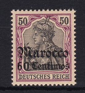 DR-Marokko-Nr-28-postfrisch-Deutsche-Auslandspostaemter-Michel-70-00-MNH