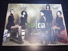 Spica Mini Album Vol. 2 - Lonely Autographed Signed CD Promo CD Rare