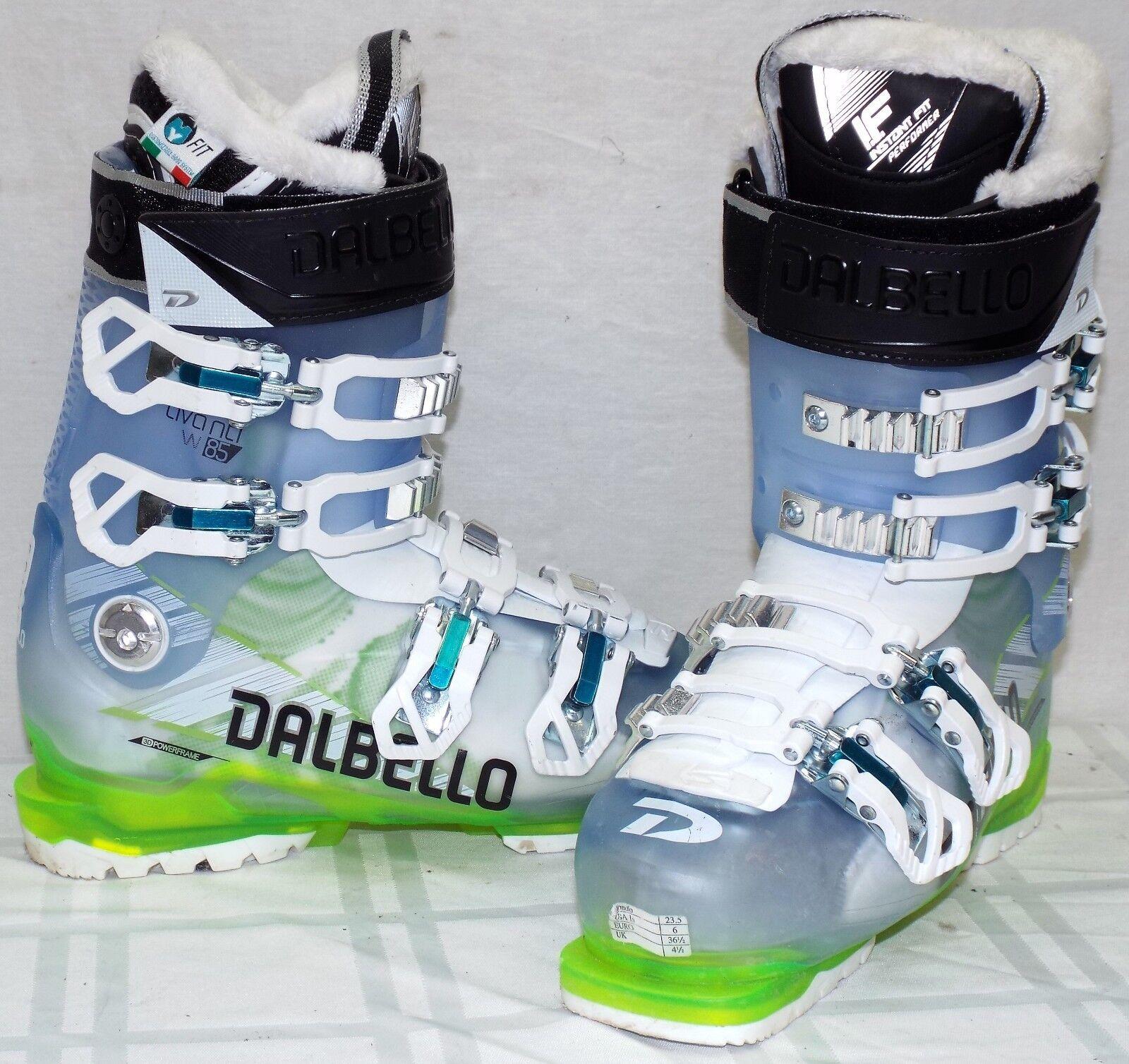 Dalbello Avanti 85 Used Women's Ski Boots Size 23.5